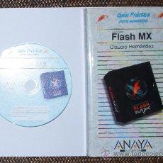 Libros de segunda mano: FLASH MX. ANAYA + CD. Lote 27579622