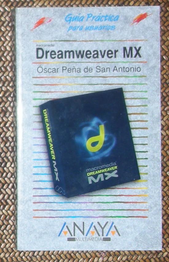 DREAMWEAVER MX. ANAYA (Libros de Segunda Mano - Informática)