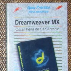 Libros de segunda mano: DREAMWEAVER MX. ANAYA. Lote 29713928