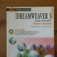 Libros de segunda mano: DREAMWEAVER 3. DAVID CROWDER. ANAYA.. Lote 26405382