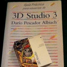 Libros de segunda mano: 3D STUDIO 3 - ANAYA - 1994. Lote 26258242