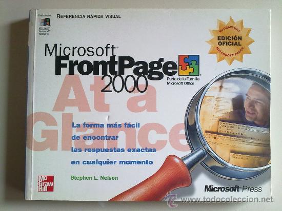 MICROSOFT FRONTPAGE 2000 POR STEPHEN L.NELSON (Libros de Segunda Mano - Informática)