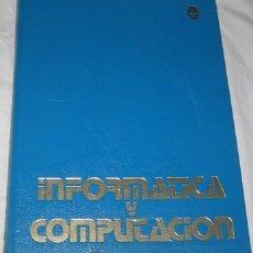 Libros de segunda mano: INFORMÁTICA Y COMPUTACIÓN, INFORMÁTICA BÁSICA - BASIC I, ED. ARGOS VERGARA, DE 1986. Lote 26320421