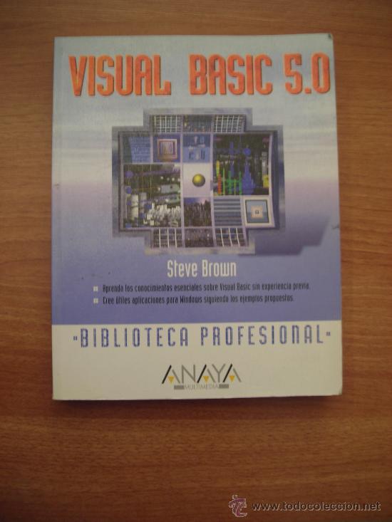 LIBRO VISUAL BASIC 5.0. BIBLIOTECA PROFESIONAL -ANAYA (Libros de Segunda Mano - Informática)
