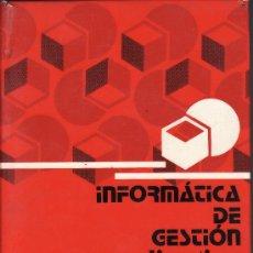 Libros de segunda mano: == H34 - INFORMATICA DE GESTION PARA DIRECTIVOS - M. PALAO - LIBRERIA TECNICA BELLISCO. Lote 27286434