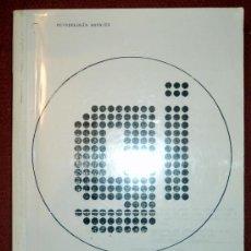Libros de segunda mano: METODOLOGÍA WARNIER;GENERAL DE INFORMÁTICA 1985. Lote 27551339
