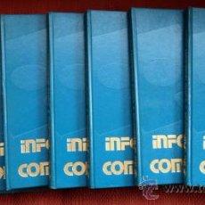 Libros de segunda mano: INFORMÁTICA Y COMPUTACIÓN(8 TOMOS-OBRA COMPLETA-);ARGOS-VERGARA 1986. Lote 27667309