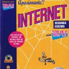 Libros de segunda mano: INTERNET PARA TORPES . Lote 27881686