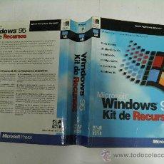 Libros de segunda mano: WINDOWS 95. KIT DE RECURSOS. MICROSOFT PRESS, 1996 RM35872. . Lote 27889007