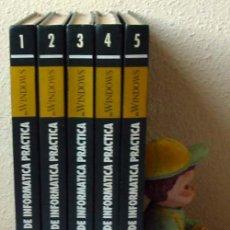 Libros de segunda mano: CURSO IBM DE INFORMÁTICA PRÁCTICA EN WINDOWS - MULTIMEDIA EDICIONES 1995 - 5 TOMOS COMPLETA. Lote 28251787