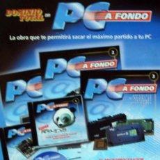 Libros de segunda mano: PC A FONDO - 5 TOMOS COMPLETO - 50 FASCÍCULOS + TAPAS + 49 CD-ROM - BASADO EN WINDOWS 95 / 98. Lote 28328202