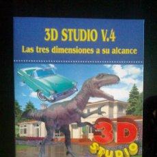 Libros de segunda mano: 3D STUDIO V.4 - EDITORIAL TOWER - AÑO 1995 - BIBLIOTECA DE INFORMATICA AVANZADA Nº 3. Lote 29717046