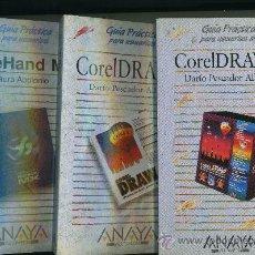 Libros de segunda mano: FREEHAN MX - COREL DRAW 5 - COREL DRAW 7.. Lote 29838835