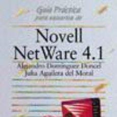 Libros de segunda mano: GUIA NOVELL NETWARE.. Lote 31084716