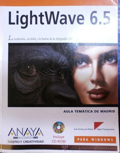 LIGHTWAVE 6.5 DE ANAYA (Libros de Segunda Mano - Informática)