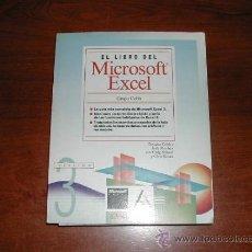 Libros de segunda mano: EL LIBRO DEL MICROSOFT EXCEL 3, EDICIÓN OFICIAL MICROSOFT PRESS. ANAYA MULTIMEDIA. - REFª (JC). Lote 32481576