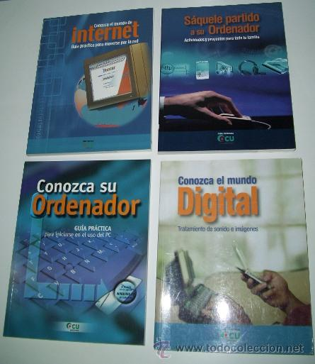 GUÍAS PRÁCTICAS DE INFORMÁTICA DE LA OCU 4T, ORGANIZACIÓN DE CONSUMIDORES Y USUARIOS EN MADRID 2003 (Libros de Segunda Mano - Informática)
