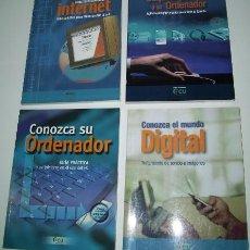 Libros de segunda mano: GUÍAS PRÁCTICAS DE INFORMÁTICA DE LA OCU 4T, ORGANIZACIÓN DE CONSUMIDORES Y USUARIOS EN MADRID 2003. Lote 32467912