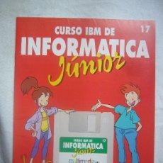 Gebrauchte Bücher - CURSO IBM INFORMATICA JUNIOR Nº 17 RBA EDICIONES MULTIMEDIA EDICIONES PLANETA AGOSTINI - 32656094