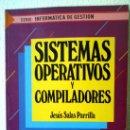 Libros de segunda mano: SISTEMAS OPERATIVOS Y COMPILADORES. Lote 32758954