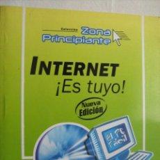 Libros de segunda mano: INTERNET ¡ES TUYO! 2003. Lote 32806588