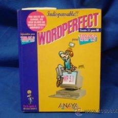 Libros de segunda mano: WORDPERFECT PARA TORPES - DIBUJOS DE FORGES - ANAYA MULTIMEDIA 1995. Lote 32991308