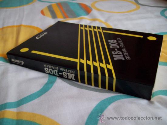 Libros de segunda mano: Informática: Manual en euskera de sistema operativo MS-DOS sistema eragilea (1986) Gráficas LIZARRA - Foto 16 - 33491722