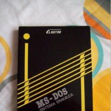 Libros de segunda mano: INFORMÁTICA: MANUAL EN EUSKERA DE SISTEMA OPERATIVO MS-DOS SISTEMA ERAGILEA (1986) GRÁFICAS LIZARRA. Lote 33491722