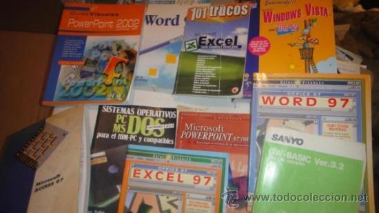 LOTE LIBROS INFORMATICA Y OFIMATICA (Libros de Segunda Mano - Informática)