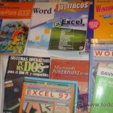Libros de segunda mano: LOTE LIBROS INFORMATICA Y OFIMATICA. Lote 34442329