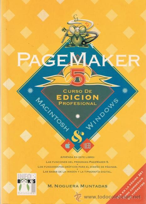 PAGEMAKER 5 CURSO DE EDICION PROFESIONAL (Libros de Segunda Mano - Informática)