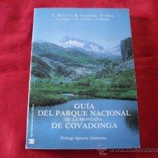Libros de segunda mano: GUIA DEL PARQUE NACIONAL DE LA MONTAÑA DE COVADONGA Y SU ENTORNO. ASTURIAS. RICO. GRAÑA. DIEGO. Lote 220307787