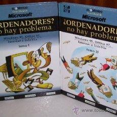Libros de segunda mano: ¿ORDENADORES? NO HAY PROBLEMA 2T POR STEPHEN L. NELSON DE MICROSOFT / MCGRAW HILL EN MADRID 1995. Lote 35421867