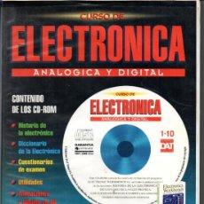 Livros em segunda mão: CURSO DE ELECTRONICA ANALOGOCA Y DIGITAL DEL CD 1 AL 10 FALTA EL CD Nº 4. Lote 35449067