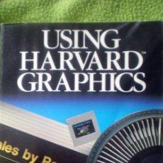 Libros de segunda mano: USING HARVARD GRAPHICS;SAGMAN/SANDLAR;QUE CORP.1989(EN INGLES). Lote 27561318