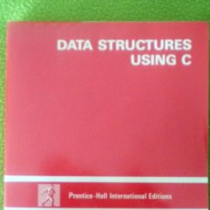 Libros de segunda mano: DATA STRUCTURES USING C;TENNENBAUM/LANGSAM/AUGENSTEIN;PRENTICE-HALL 1990;¡NUEVO!(EN INGLÉS). Lote 27561288