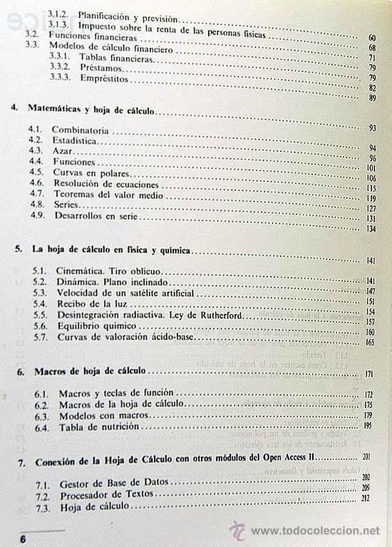 manual de aplicacion de las hojas de calculo pa - Comprar Libros de ...