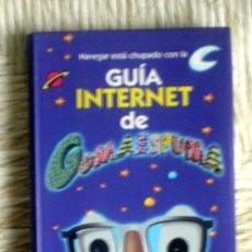 Libros de segunda mano: GUÍA INTERNET DE GOMAESPUMA;GRUPO SANTILLANA 2000;¡NUEVO!. Lote 35655090