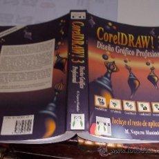 Libros de segunda mano: COREL DRAW! 3 M. NOGUERA MUNTADAS. Lote 36300825