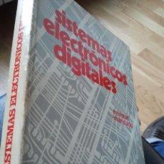 Libros de segunda mano: SISTEMAS ELECTRONICOS DIGITALES. ENRIQUE MANDADO. ED. MARCOMBO. 1973.. Lote 36626050