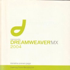 Libros de segunda mano: DREAMWEAVER MX 2004 - TRAINING FROM THE SOURCE. Lote 36987148