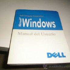 Libros de segunda mano: G-65 LIBRO WINDOWS MANUAL DE USUARIO DELL. Lote 37020893
