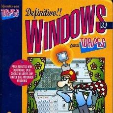 Libros de segunda mano: WINDOWS PARA TORPES 3.1 ANAYA MULTIMEDIA. COMO NUEVO. Lote 37083034