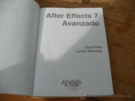 Libros de segunda mano: after effects 7 - Foto 3 - 37098266
