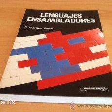 Libros de segunda mano: LENGUAJES ENSAMBLADORES R. MARTINEZ TOMÁS PARANINFO 1990. Lote 37467392