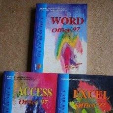 Libros de segunda mano: GUÍA RÁPIDA. ACCESS. WORD. EXCEL. OFFICE 97.. Lote 37667125