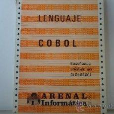 Libros de segunda mano: LENGUAJE COBOL. ARENAL INFORMATICA.. Lote 37643097