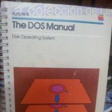 Libros de segunda mano: APPLE II THE DOS MANUAL AÑO 1981. Lote 37960038