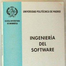 Libros de segunda mano: INGENIERÍA DEL SOFTWARE - UNIVERSIDAD POLITÉCNICA DE MADRID 1995 - 350 PÁGINAS - VER DESCRIPCIÓN. Lote 38062593