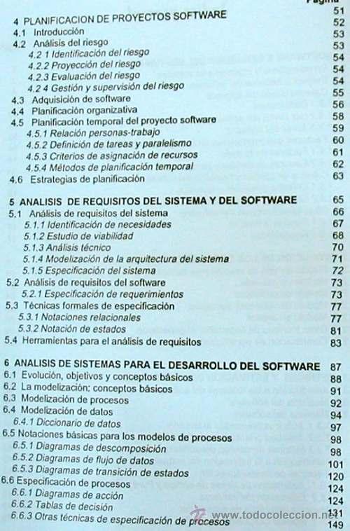 Libros de segunda mano: INGENIERÍA DEL SOFTWARE - UNIVERSIDAD POLITÉCNICA DE MADRID 1995 - 350 PÁGINAS - VER DESCRIPCIÓN - Foto 3 - 38062593